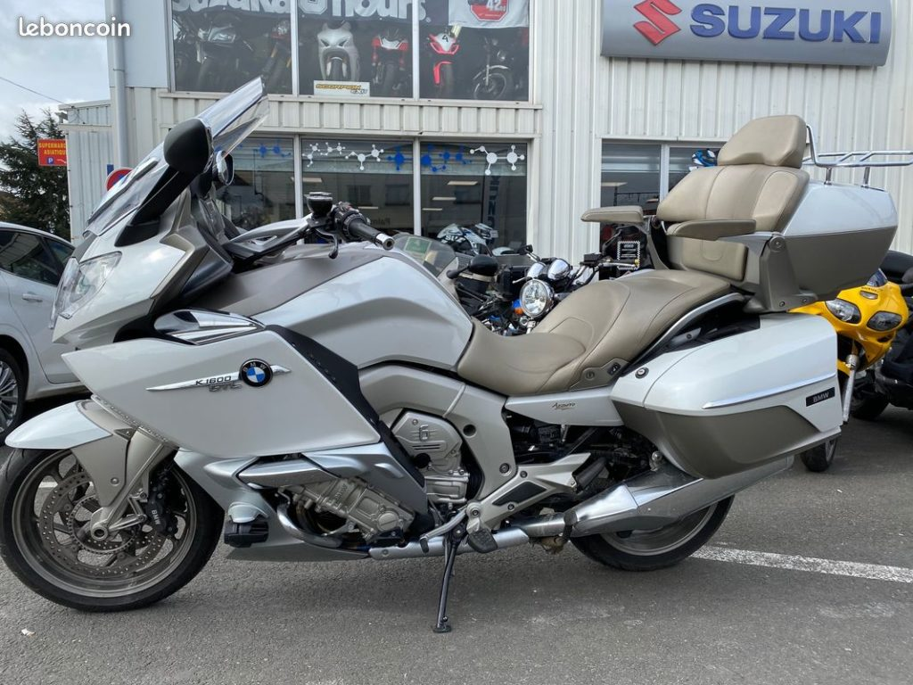 BMW K1600 GT Exclusive Occasion SMB lateral gauche