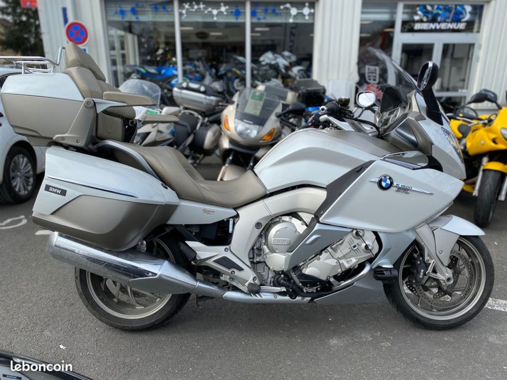 BMW K1600 GT Exclusive Occasion SMB lateral droit