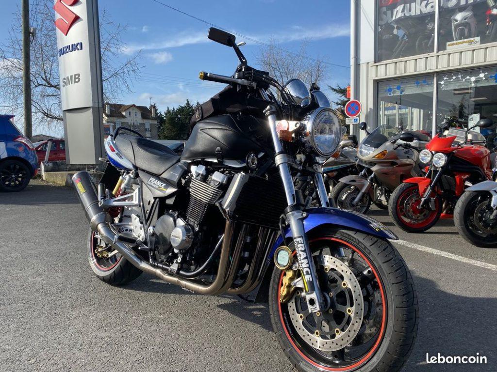 Suzuki 1400 GSX Avant Droit  Occasion SMB Dammarie les Lys Melun 77 Seine et Marne