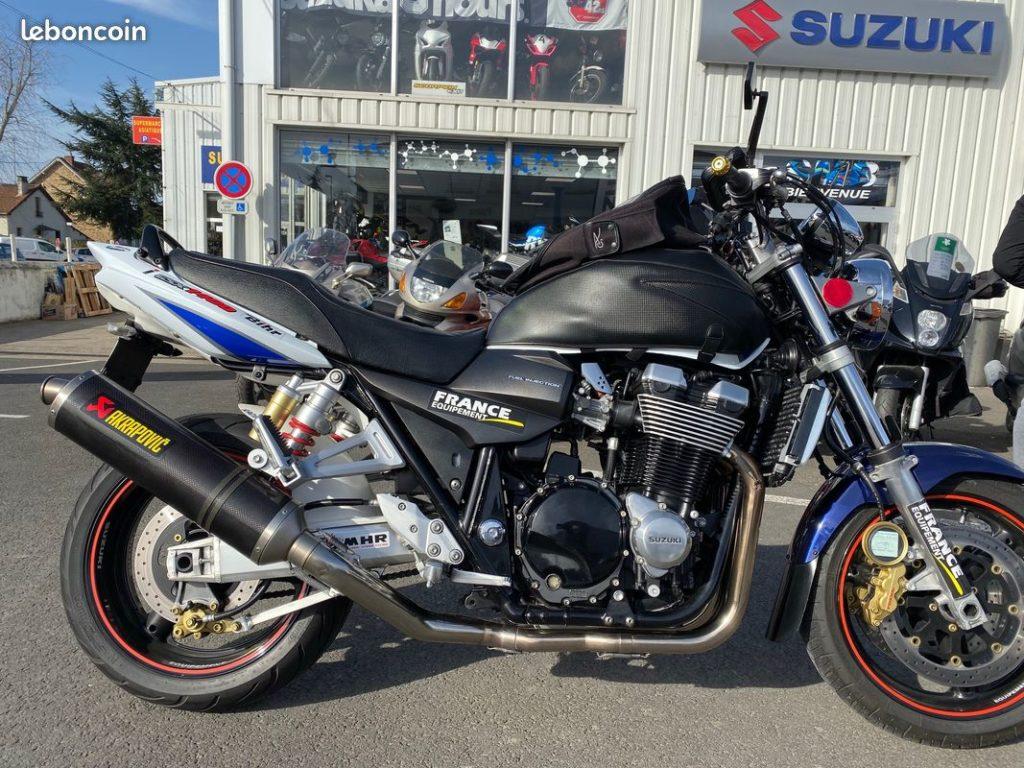 Suzuki 1400 GSX Lateral Droit  Occasion SMB Dammarie les Lys Melun 77 Seine et Marne