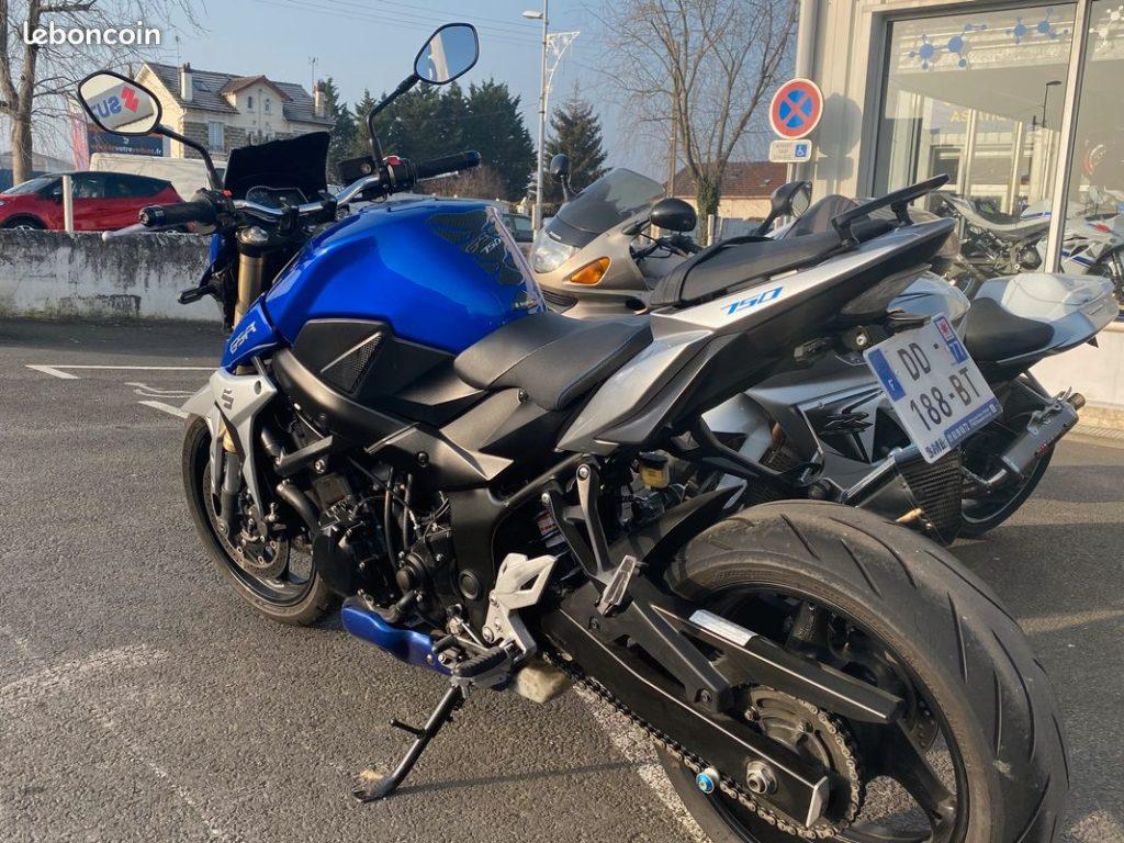 Suzuki 750 GSR ABS Arriere Gauche Occasion SMB Dammarie les Lys Melun 77 Seine et Marne