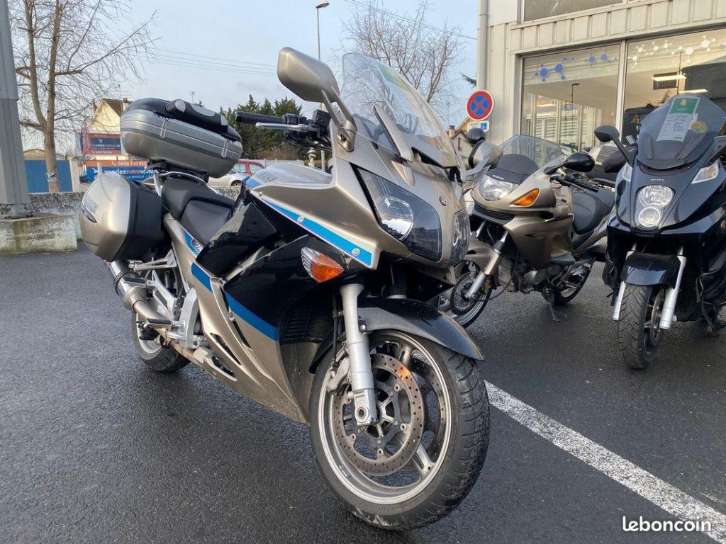 Yamaha 1300 FJR édition limitée Avant Droit Occasion SMB Dammarie les Lys Melun 77 Seine et Marne