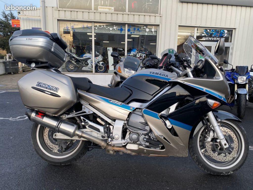 Yamaha 1300 FJR édition limitée Lateral Droit Occasion SMB Dammarie les Lys Melun 77 Seine et Marne
